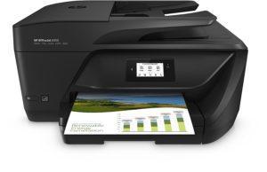 HP OfficeJet 6950 Imprimante Multifonction jet d'encre NoirBlanc (16 ppm, 4800 x 1200 ppp, Wifi, Impression mobile, Fax, Instant Ink)
