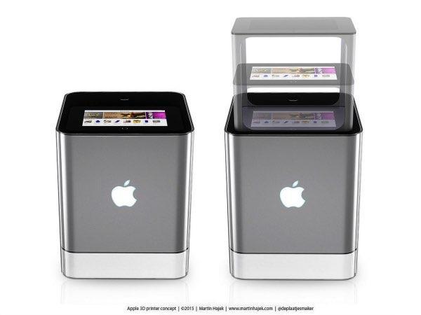 imprimante 3D apple